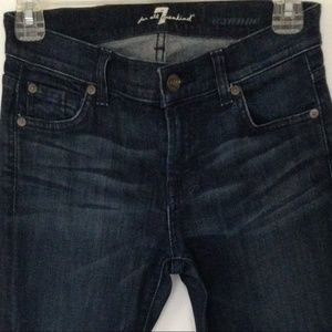 7 For All Mankind Roxanne Skinny Size 23 P